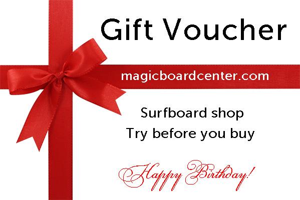Gift Voucher surf shop Lagos Portugal