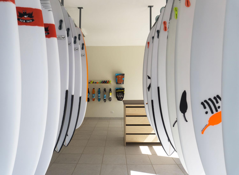 Magic Board Center Surf shop in Lagos Portugal