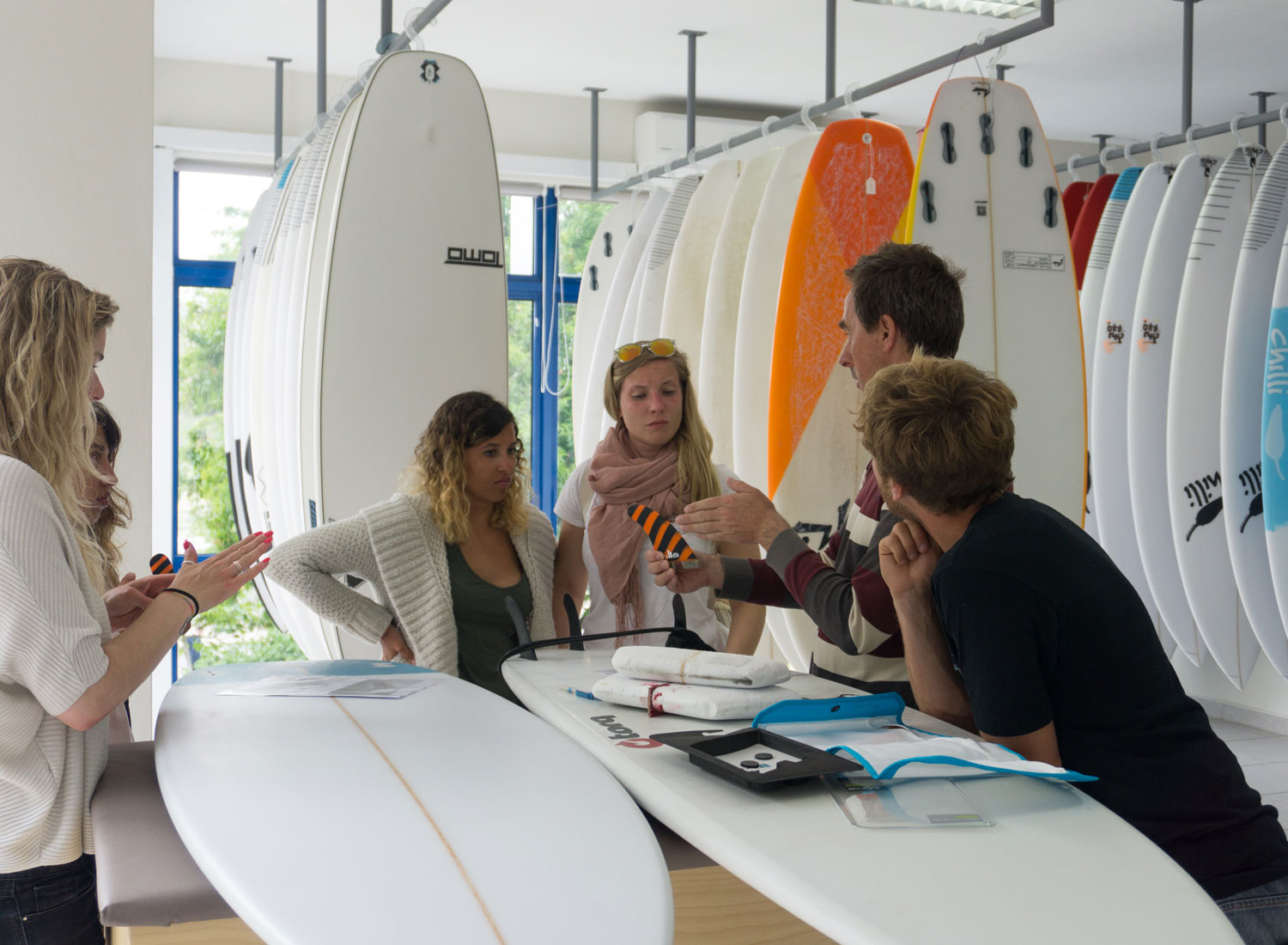 Free surfboard analyzing and test drive in Lagos