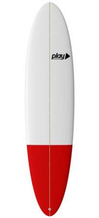 Play surfboards Malibu 7'6 rent buy in Lagos Algarve Portugal