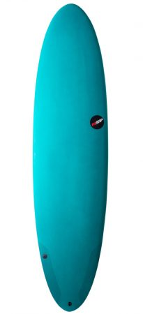 NSP Protech Funboard 7'6 surfboard in Lagos Algarve Portugal