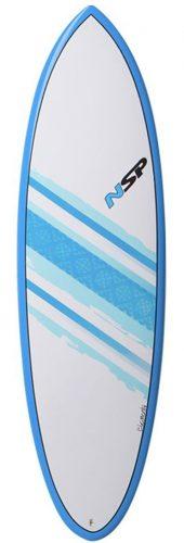 NSP Hybrid 6'2 surfboard in Lagos Algarve Portugal