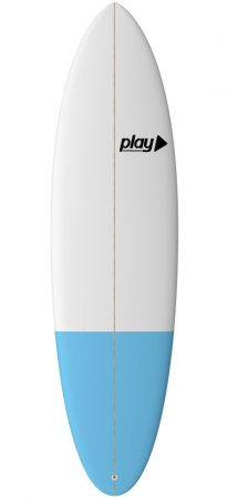 Play surfboards Evolution 6'8 PU rent sale buy in Lagos Algarve Portugal
