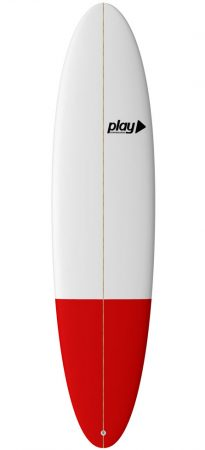 Play surfboards Malibu 7'6 PU rent sale buy in Lagos Algarve Portugal