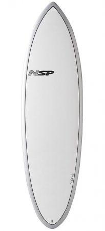 NSP Hybrid Silver 6'2 surfboard in Lagos Algarve Portugal