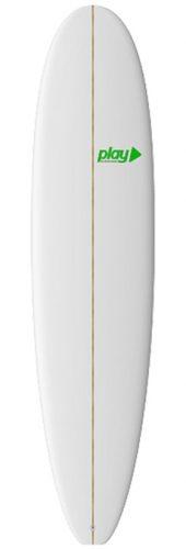 Play surfboards Mini Malibu Longboard 8'0 PU rent buy in Lagos Algarve Portugal