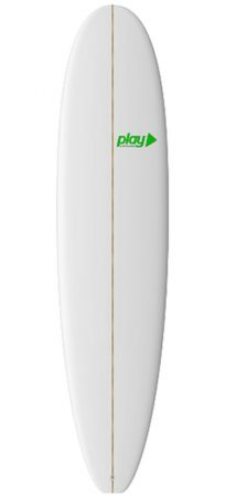 Play surfboards Mini Malibu Longboard 8'0 PU rent buy in Lagos Algarve Portugal