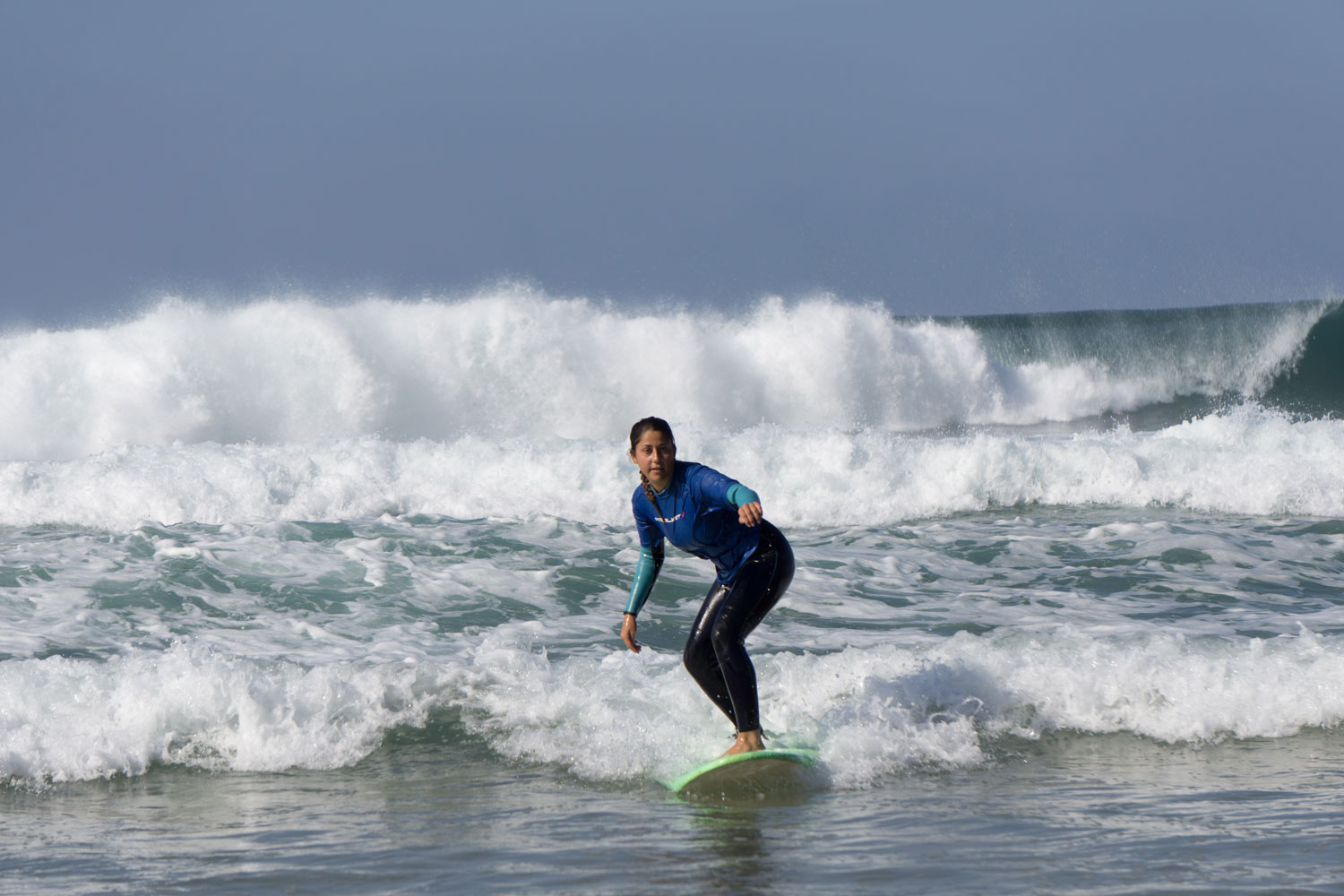 Surf lessons, learn try surfing in Lagos Algarve South Portugal