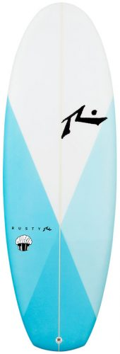 Rusty surfboards Muffin Top test rent buy in Lagos Portugal