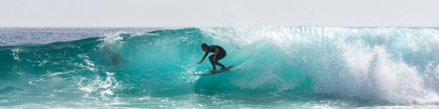 Finding a magic surfboard in Lagos Algarve Portugal