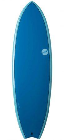 NSP Fish 6'4 surfboard Elements Ocean Blue test rent buy in Lagos Algarve Portugal