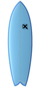 Xtreme surfdesign Salmon Fish surfboard test rent buy in Lagos Algarve Portugal