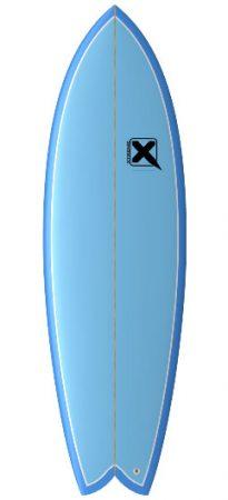 Xtreme surfdesign Salmon Fish surfboard test rent buy in Lagos Algarve Portugal