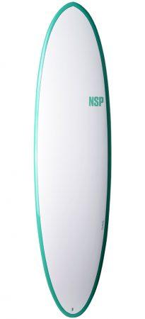 NSP Funboard Elements HDT Green (6'8, 7'2, 7'6)test rent buy in Lagos Algarve Portugal